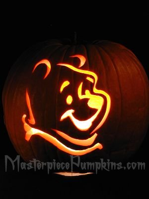 for Winnie the pooh pumpkin carving templates