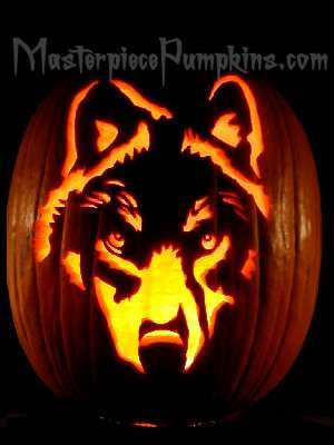 Halloween Pumpkin Carving | Dog Breed Patterns