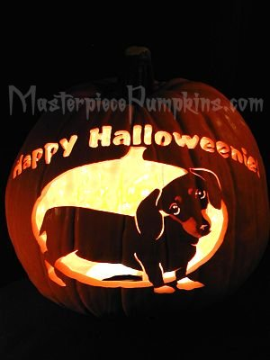 Dog Pumpkin Carving Pattern | Pumpkin Carving Patterns - Garfield