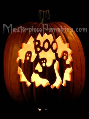1000 images about pumkins on pinterest for Boo pumpkin ideas