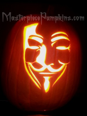template v for vendetta pumpkin  FAMOUS FACES Carving Patterns