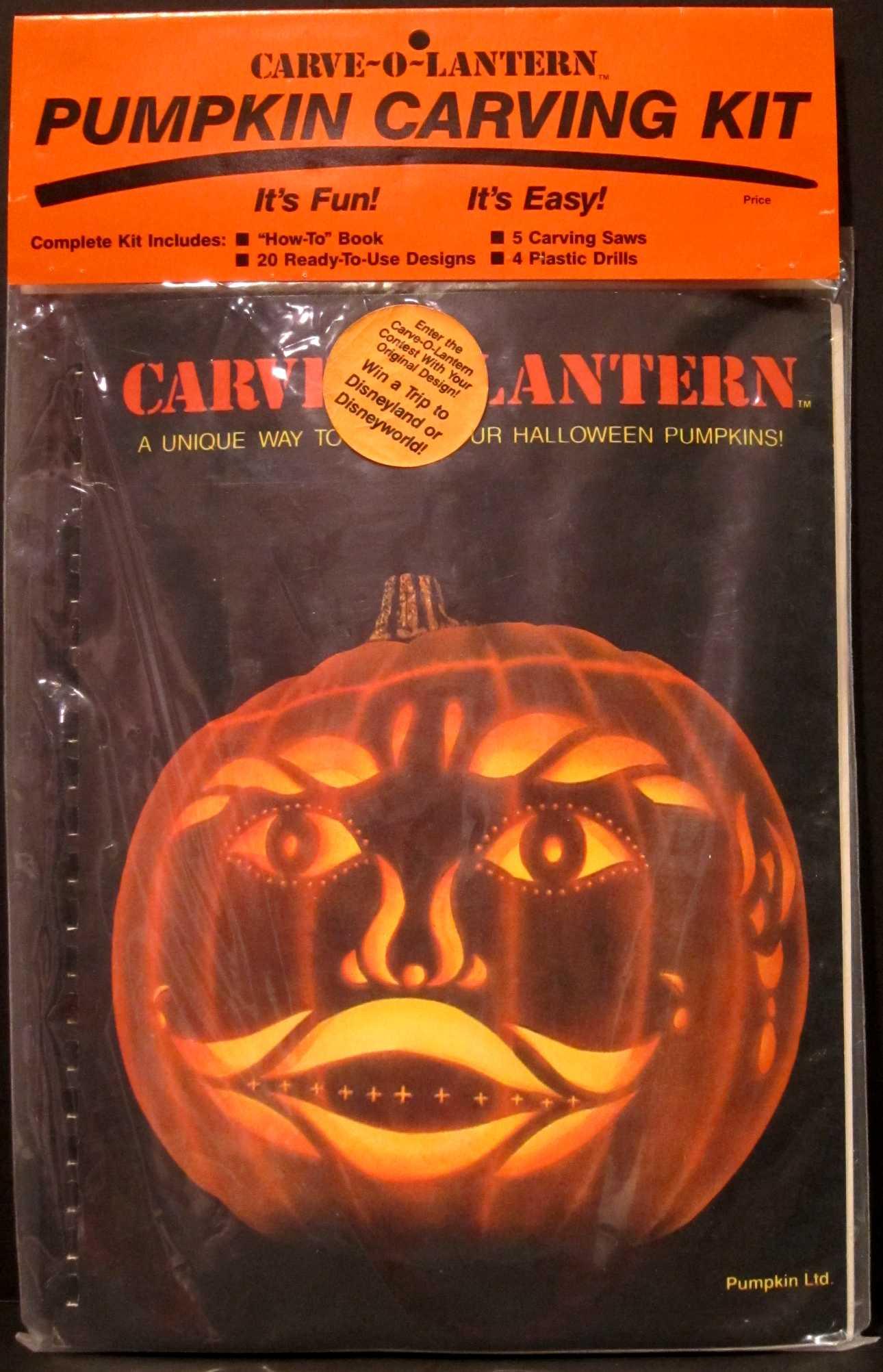 Halloween Pumpkin Carving Sticker Book